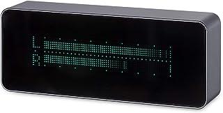 Douk Audio AK7115 VFD 15 Level Multifunctional Music Audio Spectrum/High Precision Digital Clock/Audio VU Meter/DB Indicator with Remote Control (Aluminium Shell (Gray))