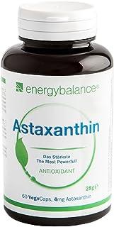 Astaxantina - Alga Haematococcus - Con Vitamina E, Luteina, Beta-Carotene e Betacianine - Vegano - Antiossidante Naturale...