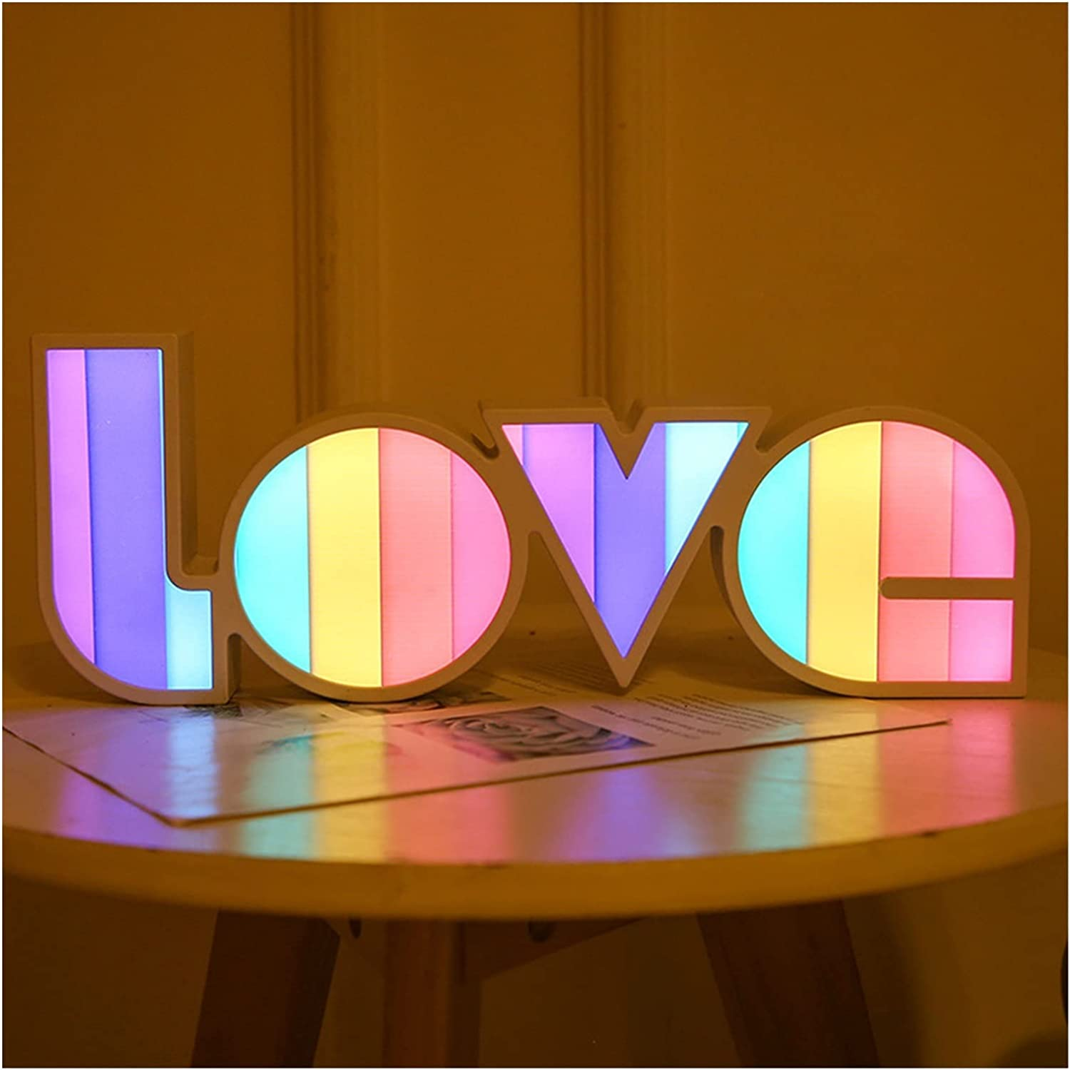 Max 72% OFF Fuxwlgs Night Bargain Light LED Lights Room Neon Lamp Warmth