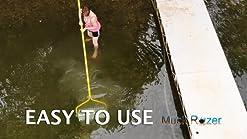 Jenlis Muck Razer Aquatic Weed /& Root Eliminator for Beaches Ponds /& Lakes