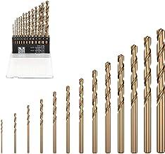 13 brocas en espiral para taladro de mano (metal, madera, joyas, modelismo, bricolaje)