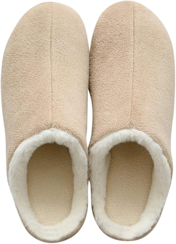 Tuoup Women's Cozy Winter Fuzzy Outdoor Indoor House Slippers