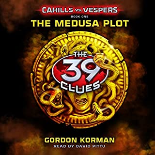 The Medusa Plot: 39 Clues cover art