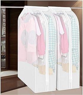 Les vêtements de vêtement Cover Protector, antipoussière Vêtements Sac de rangement Hanging imperméable avec fermeture écl...