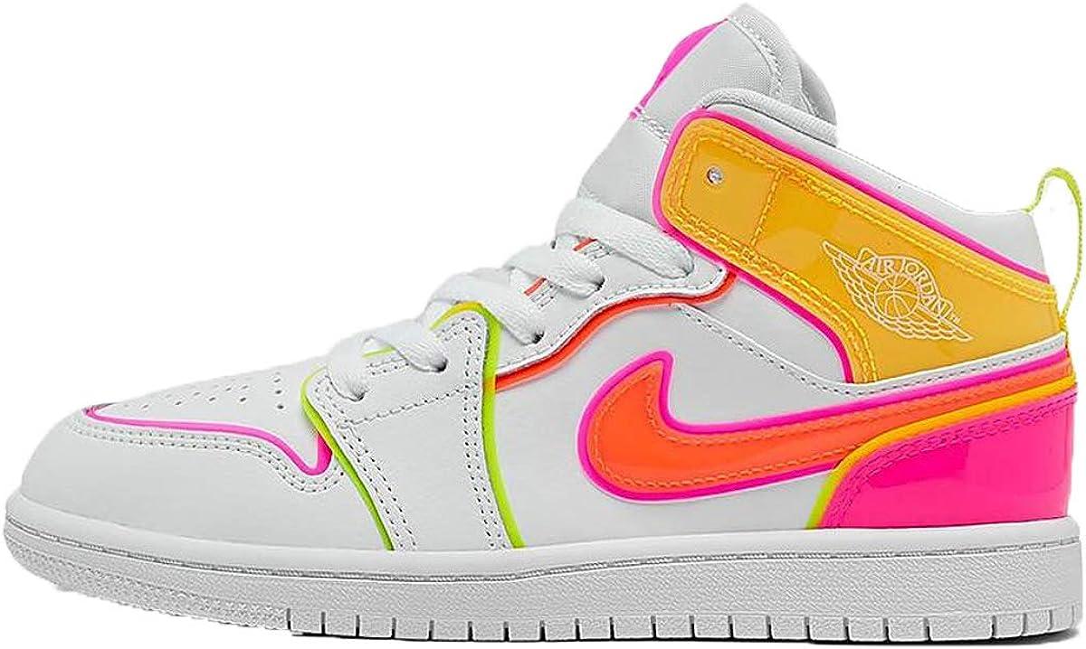 Jordan Kid's Shoes Nike Air Retro 1 Mid (PS) Edge Glow CV4612-100