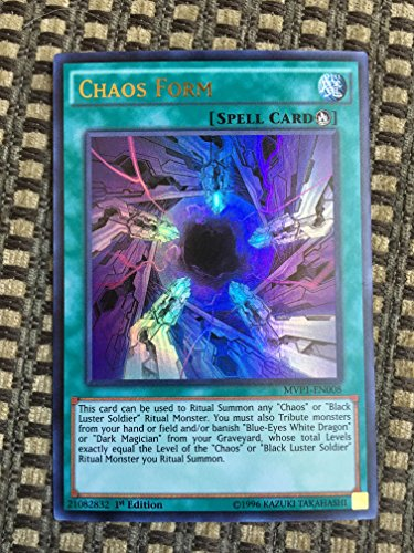 YU-GI-OH! - Chaos Form (MVP1-EN008) - The Dark Side of Dimensions Movie Pack - 1st Edition - Ultra Rare