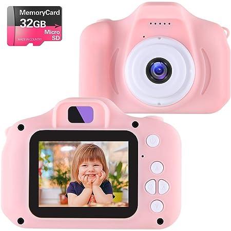 """Kids Children Digital Camera 2.0/"""" HD Mini Camera Christmas Gift U9T7 L1B2"""