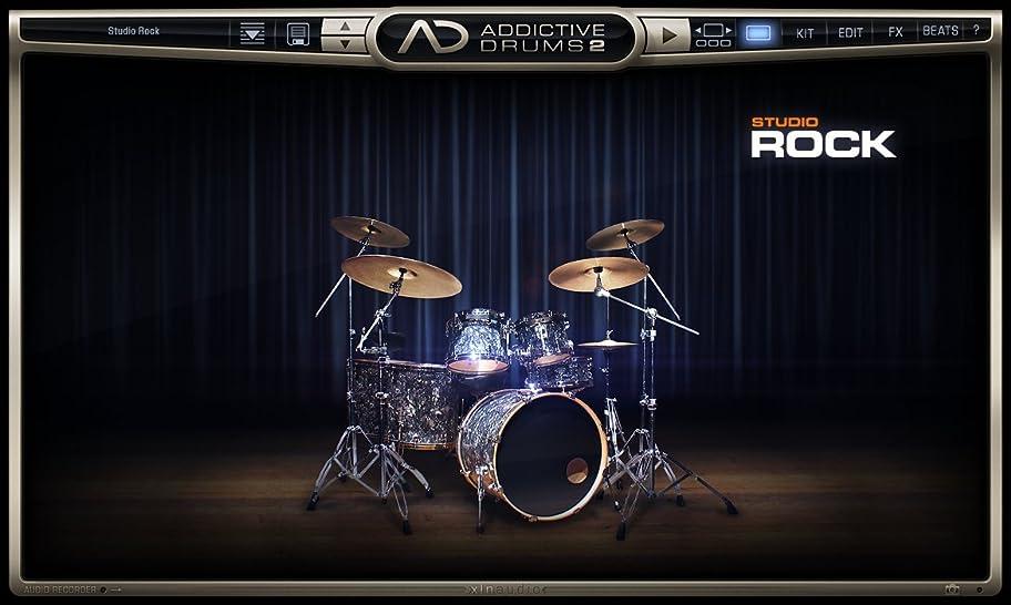 遵守する天使にはまってXLN Audio Studio Rock Addictive Drums 2 専用拡張音源