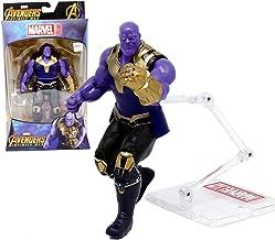 FHMHJH 霸 霸 动漫 玩具 玩具, Juguete De 6 Pulgadas Miracle Avengers, Diagrama De Acción De Thanos - Junta Movible + con Soporte