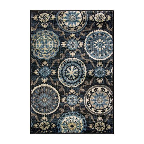 SUPERIOR Abner Collection Area Rug, 10mm Pile Height with Jute Backing, Fashionable and Affordable Rugs, Beautiful…