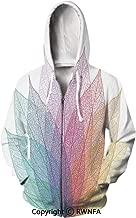 Unisex 3D Printed Hoodies Jurassic Decor Globe Tropical Plants Fashion Hoodie