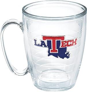 Tervis La Tech University Emblem Individual Mug, 16 oz, Clear