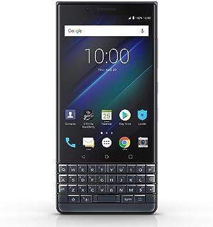 BlackBerry KEY2 LE (BBE-100-4) 64GB, Dual SIM, Dual 13MP+5MP Camera, 4GB RAM, GSM Unlocked International Model, No Warrant...