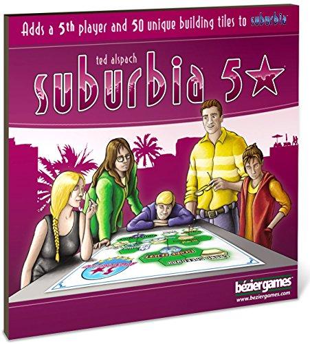Bezier Games BEZ00014 - Suburbia 5 Stars Expansion