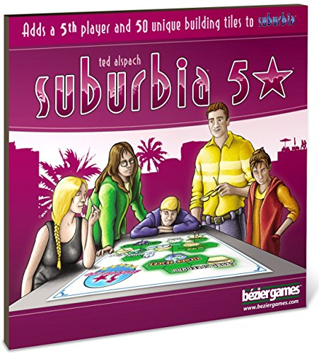 Bezier Games BEZ00014 - Suburbia 5 Stars Expansion