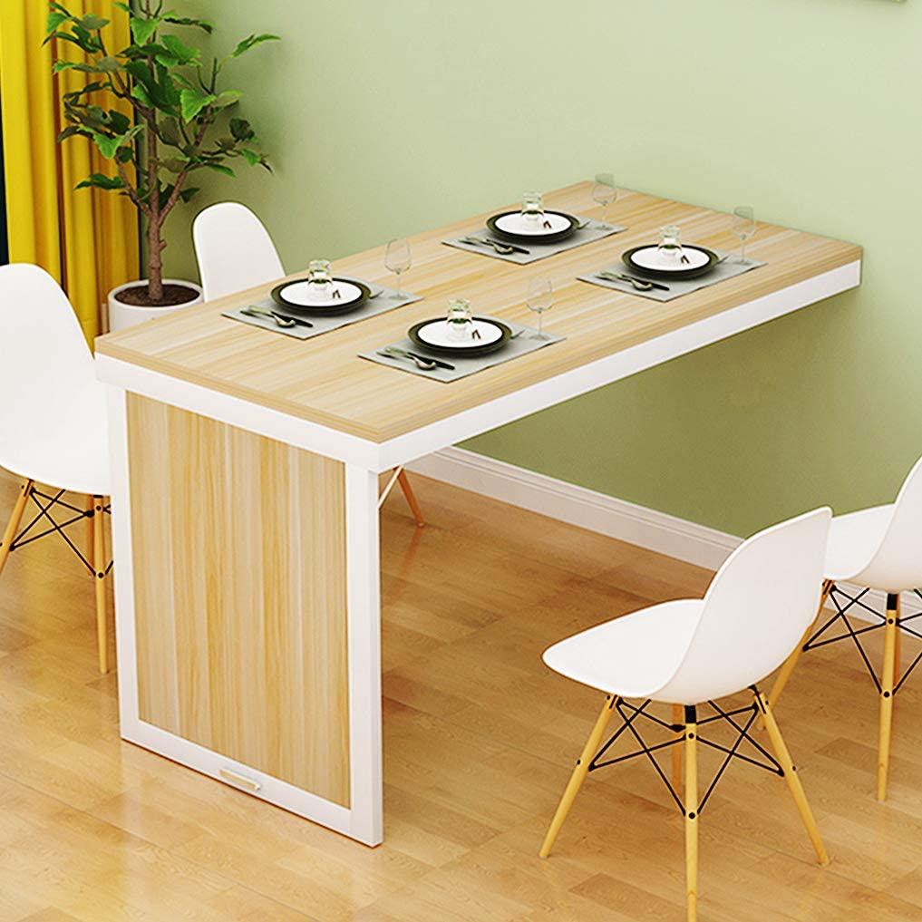 HORV Folding Dining Table Wall-Mounted Up Wall Sale item Sm online shopping Fold for