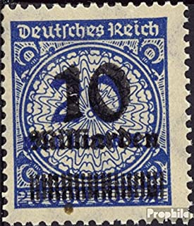 German Empire 335A 1923 Hyperinflation (Stamps for Collectors)