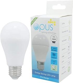 3 x Opus 15W = 100W LED GLS ES E27 Very Bright Light Bulbs Warm White