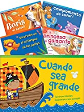 Teacher Created Materials - Classroom Library Collections: Literary Text Readers (Spanish) Set 1 - 10 Book Set - Grade 1 -...