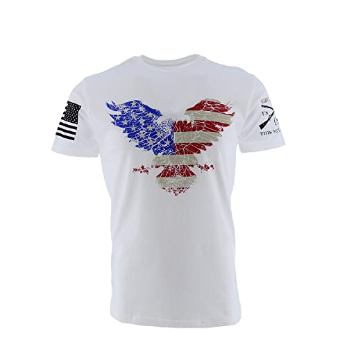 Grunt Style Freedom Eagle Men's T-Shirt