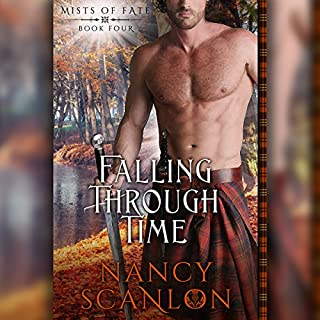 Falling Through Time audiobook cover art