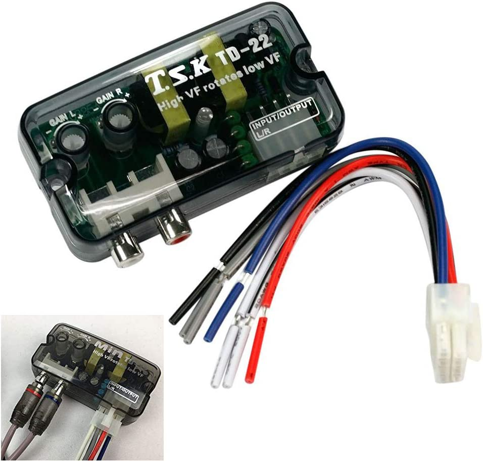 Car Stereo Genuine Free Shipping High to Low Line Speaker Cable Converter Conver Level Ranking integrated 1st place