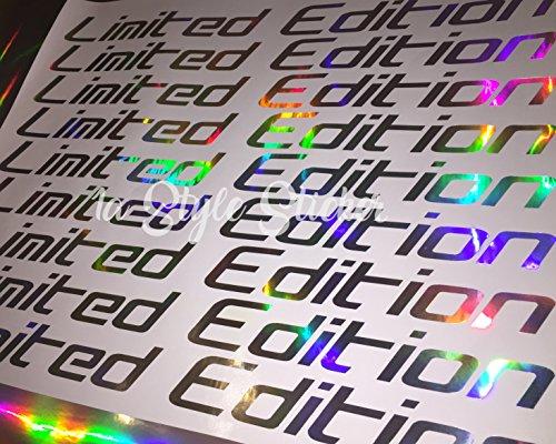 Limited Edition Aufkleber Frontscheibenaufkleber oilslick folie Hologramm Folie 3d Glitzerfolie Autofolie bunt chrom