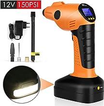 55 45mm sazoley Pompes Pneumatiques Portatives de Voiture 12V Pompe Gonflable sans Fil de Voiture de Pompe de V/élo de Voiture de Gonfleur de Pneu /Électrique 250