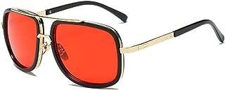 Big Frame Sunglasses, Men Square Fashion Glasses, Retro Sun Glasses Sport Goggles for Travel