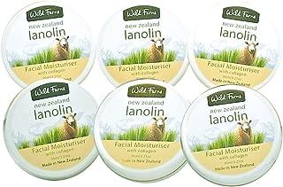 Wild Ferns Lanolin and Collagen Cream 6 pack