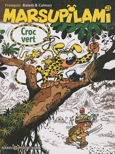 Marsupilami, Tome 23 : Croc vert