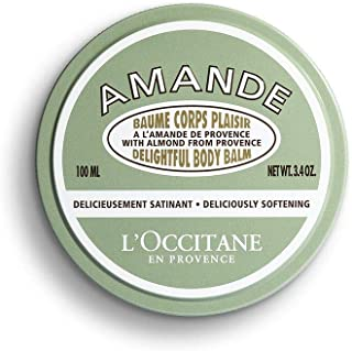 L'Occitane Delightful Body Balm Enriched with Almond Oil and Butter, 3.4 oz.