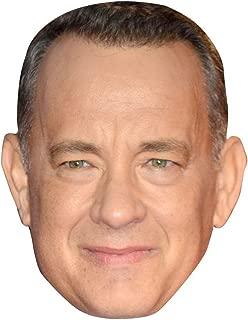 Tom Hanks Celebrity Mask, Card Face and Fancy Dress Mask