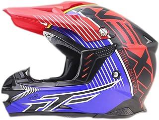 Erwachsene Full Face Motocross Helme Abs Material Anti Collision Racing Schutzkappen Sicherheit Atmungsaktiv Off Road Racing Motorradhelm Jahreszeiten Universal