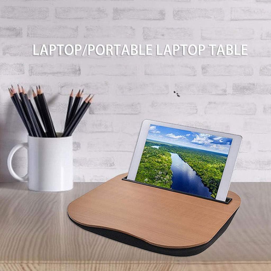 Table d'ordinateur Portable de Support d'ordinateur Portable de Bureau de Tour Multifonctionnel pour Le canapé de Travail d'étude, B, Maison/Bureau B