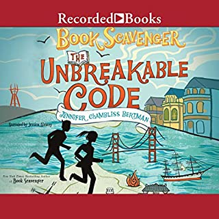 The Unbreakable Code                   Written by:                                                                                                                                 Jennifer Chambliss Bertman                               Narrated by:                                                                                                                                 Jessica Almasy                      Length: 7 hrs and 53 mins     2 ratings     Overall 4.5