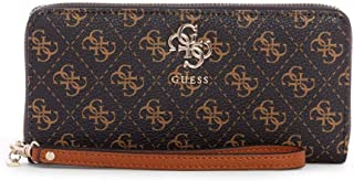 GUESS Digital Multi Large Zip Around Wallet