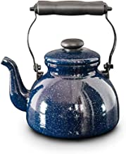 SHYPT Teapot-Stove Top Whistling Tea Kettle-Surgical Stainless Steel Teakettle Teapot with Cool Ergonomic Handle