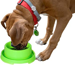 PetLike Plastic Dog Bowls, Pet Feeding Bowl for Cat Puppies Anti Ants Water Food Feeder Dish