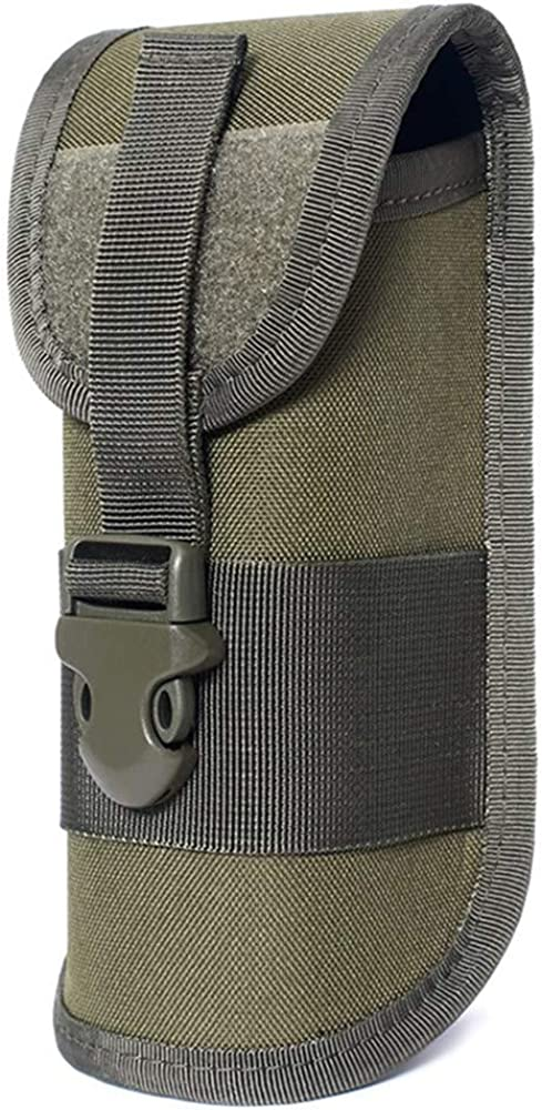 ACEXIER MOLLE Glasses Pouch Outdoor Durable Tactical Pouch Sunglasses Case Army Style Flashlight Pouch with Buckle
