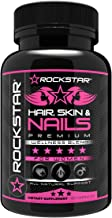 Hair, Skin, Nails Natural Dietary Supplement by Rockstar- 60 Count