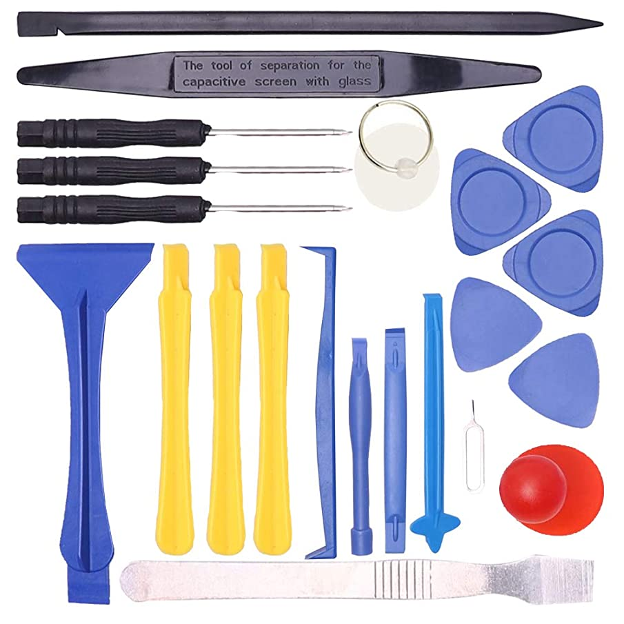 Smartphone Repair Tool kit with Craftsman Smartphone Repair Tool Kit 22 Pcs for iPhone, Huawei, SUMSUNG, MI, LG, Moto and HTC