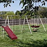 Flexible Flyer Play Park Swing Set w/ Slide, Swings