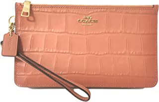 Coach Gallery Leather Medium Wristlet 47835