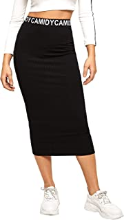 Best ribbed bodycon pencil skirt Reviews
