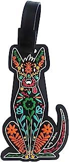 By Mexico identificador de maleta Xoloescuintle PVC