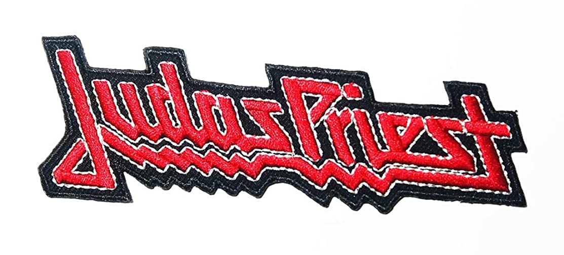 Music J Heavy Metal Band Music Logo Patch Embroidered Sew Iron On Patches Badge Bags Hat Jeans Shoes T-Shirt Applique