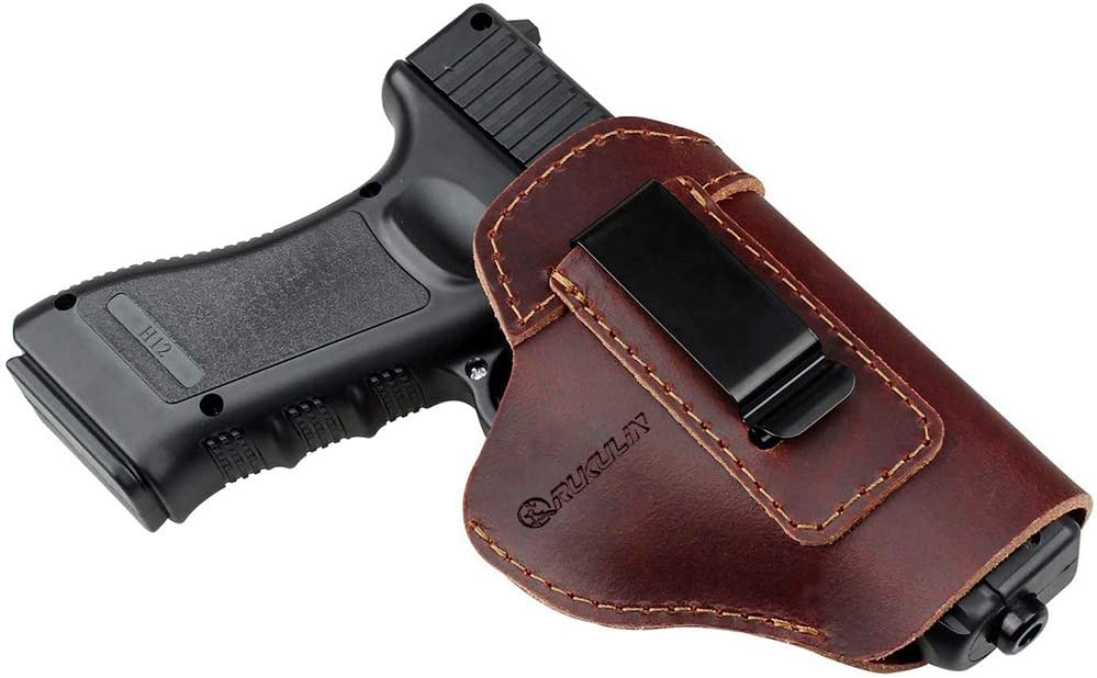 Rukulin Pure Cowhide IWB Leather Holster Rapid rise Gun Glock All stores are sold for