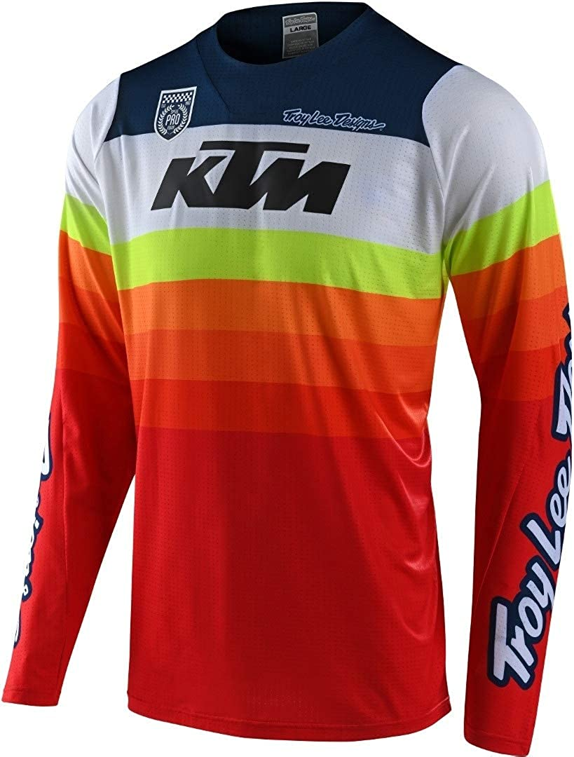 Troy Lee Designs Se Jersey Spectrum 303736003 Se Jersey Spectrum Blue//Navy MD Uomo