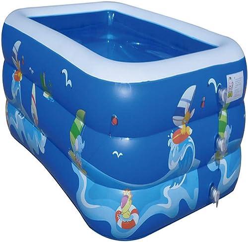 Rechteckiger Pool Aufblasbarer Pool Kinderpool Planschbecken
